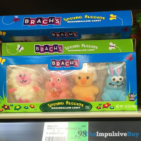 Brach s Spring Buddies Marshmallow Candy
