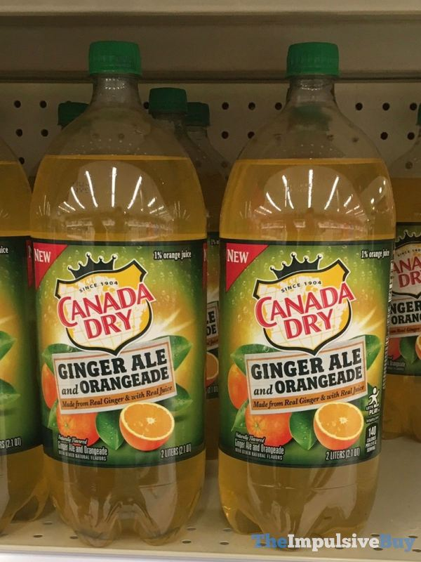 Canada Dry Ginger Ale and Orangeade