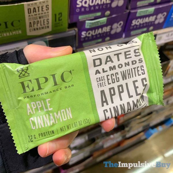 Epic Performance Bar Apple Cinnamon