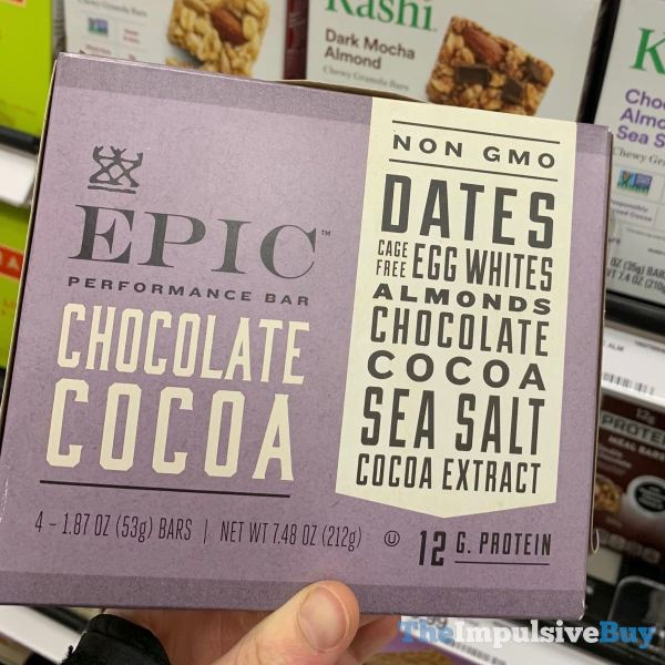 Epic Performance Bar Chocolate Cocoa