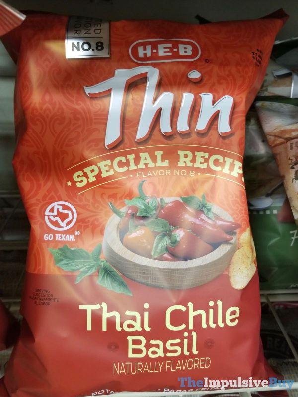 H E B Thin Special Recipe Flavor No 8 Thai Chile Basil