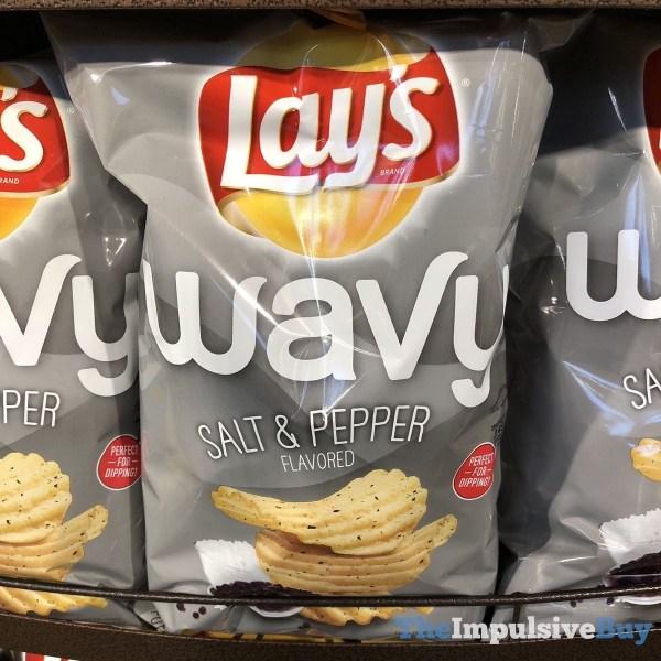 Lay s Wavy Salt  Pepper Potato Chips