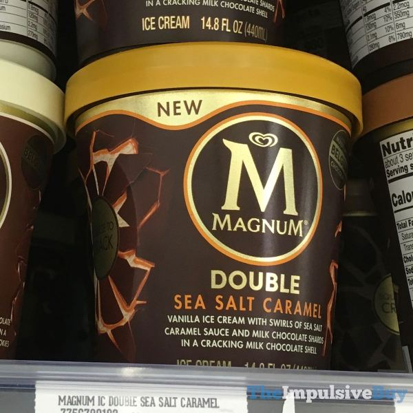 Magnum Double Cookie Crumble and Double Sea Salt Caramel  Version 2