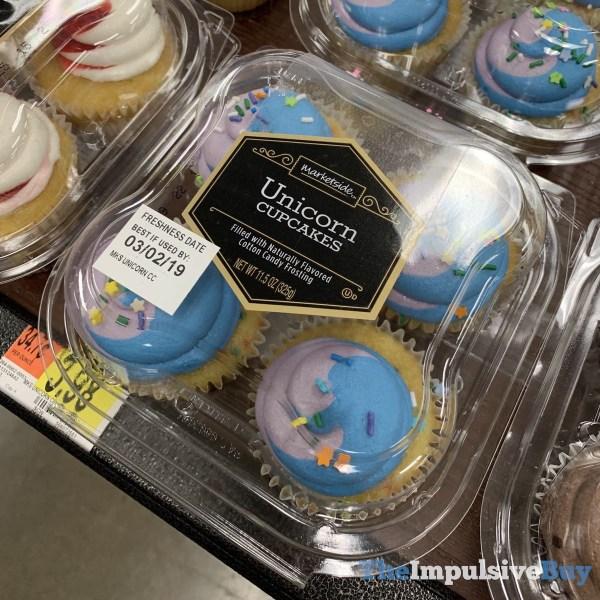 Marketside Unicorn Cupcakes 4 Pack