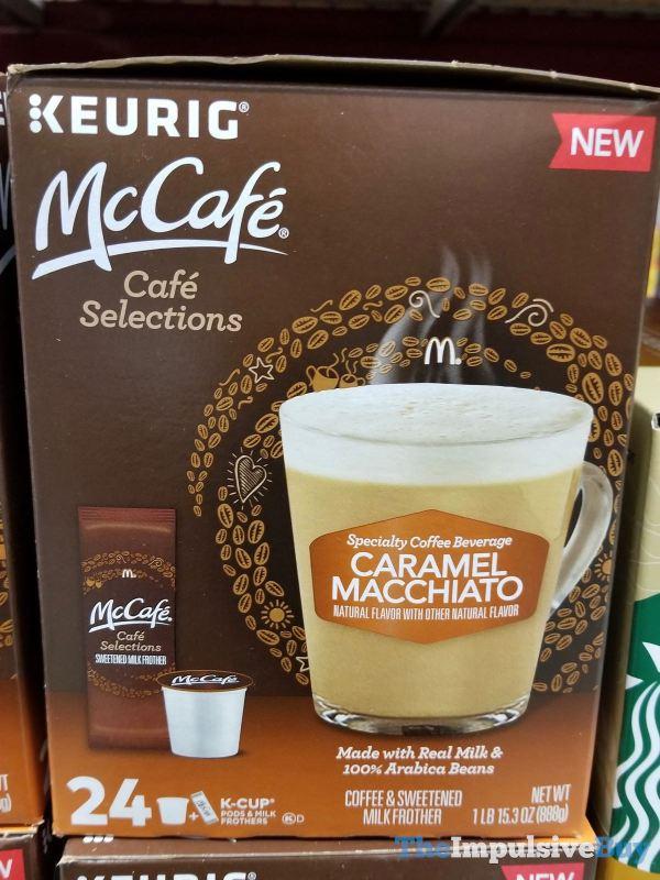 McCafe Cafe Selections Caramel Macchiato