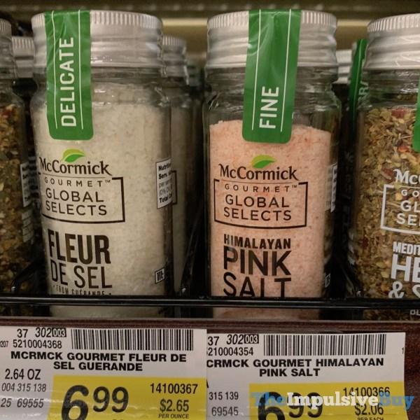 McCormick Gourmet Global Selects Fleur De Sel and Himalayan Pink Salt