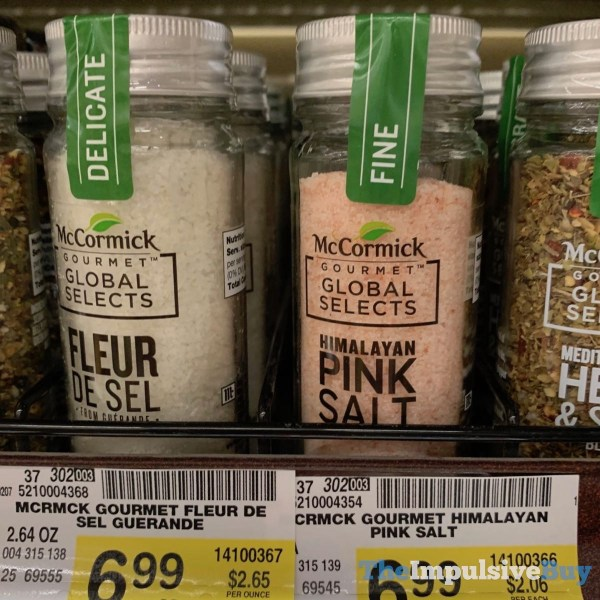 McCormick Gourmet Global Selects Fleur De Sel and Himalayan Pink Salt