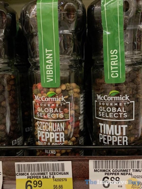 McCormick Gourmet Global Selects Szechuan Pepper Salt  Spice and Timut Pepper