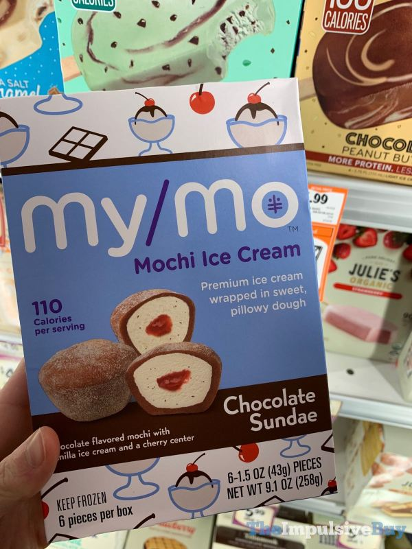 My Mo Chocolate Sundae Mochi Ice Cream
