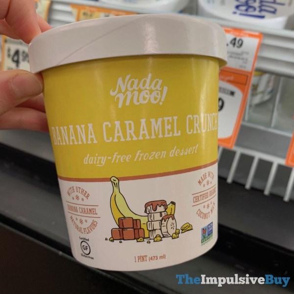 Nada Moo Banana Caramel Crunch Dairy Free Frozen Dessert