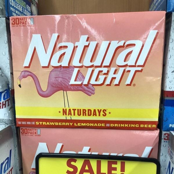 Natural Light Naturdays Strawberry Lemonade