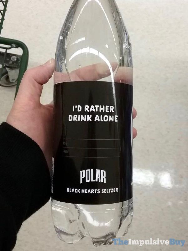 Polar Black Hearts Seltzer