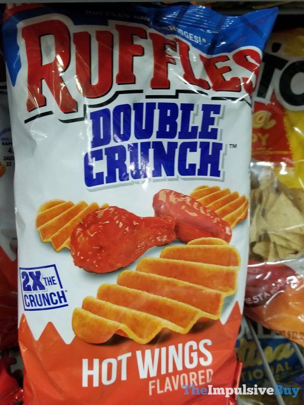Ruffles Double Crunch Hot Wings Potato Chips