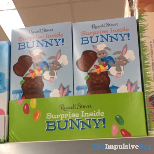 Russell Stover Surprise Inside Bunny