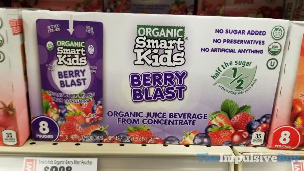Smart Kids Organic Berry Blast Pouches