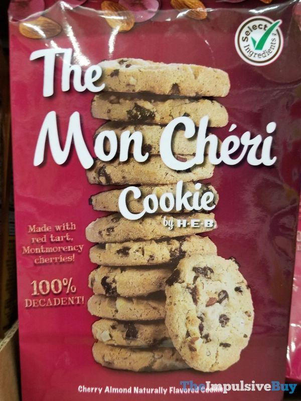 The Mon Cheri Cookie by H E B