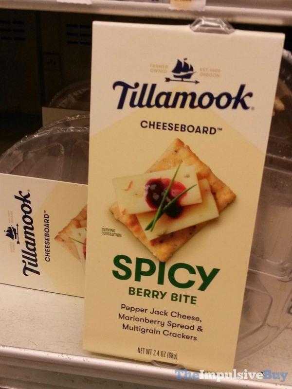 Tillamook Cheeseboard Spicy Berry Bite