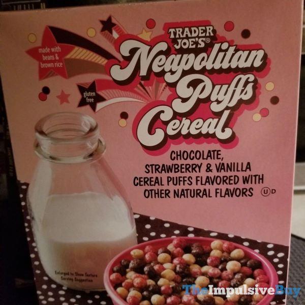 Trader Joe s Neapolitan Puffs Cereal