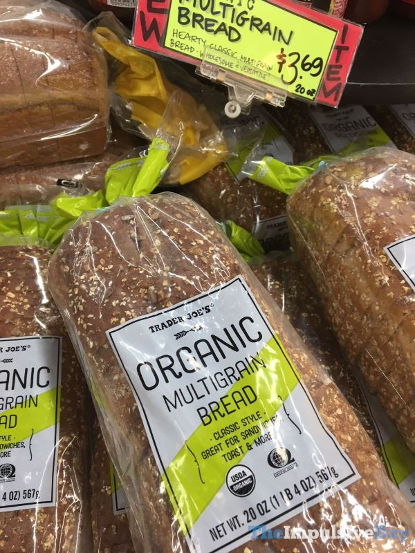 Trader Joe s organic Multigrain bRead