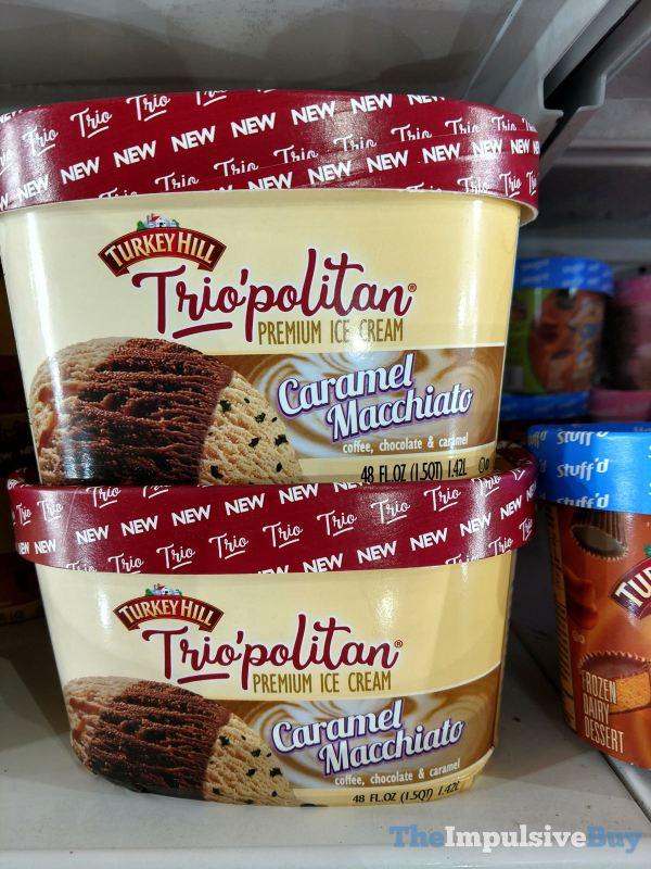 Turkey Hill Trio politan Caramel Macchiato Ice Cream