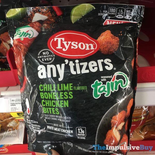 Tyson Any tizers Seasoned with Tajin Chili Lime Boneless Chicken Bites