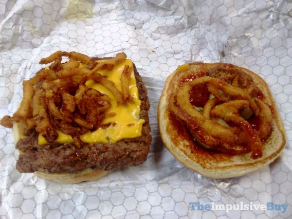 Wendy s Barbecue Cheeseburger 2