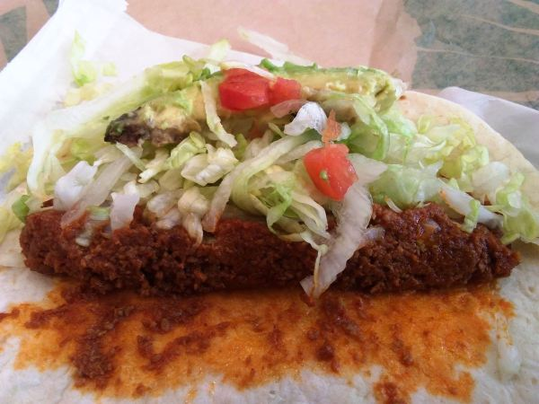 Del Taco Beyond Avocado Taco