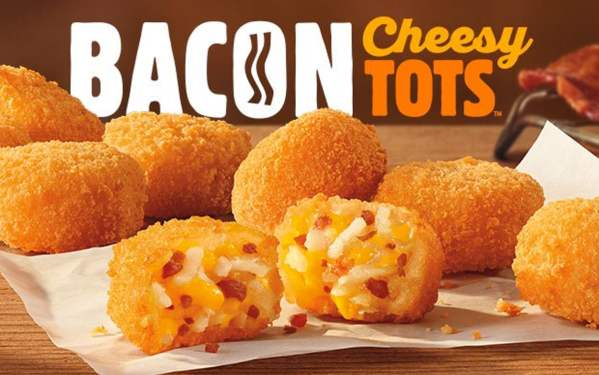 BK Bacon Cheesy Tots