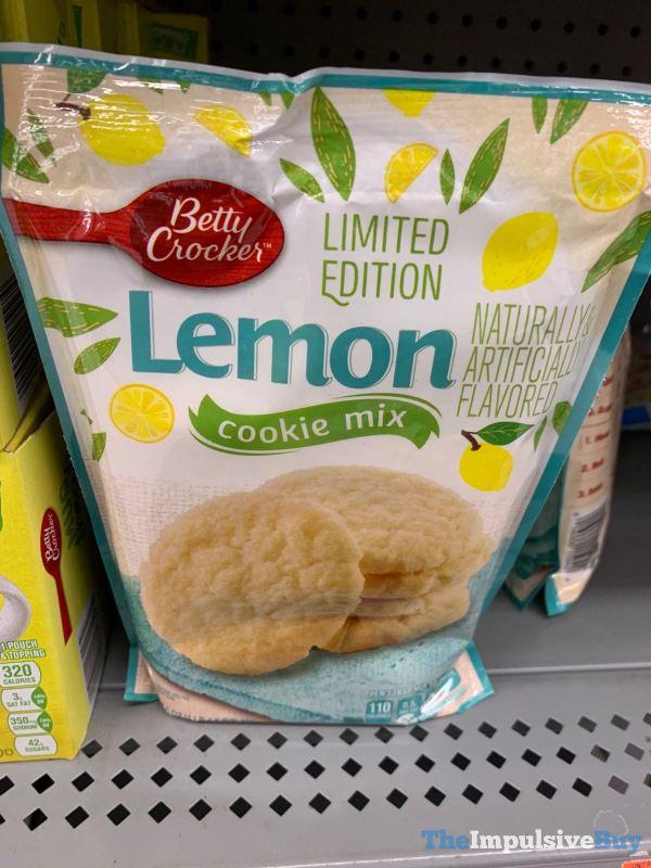 Betty Crocker Limited Edition Lemon Cookie Mix