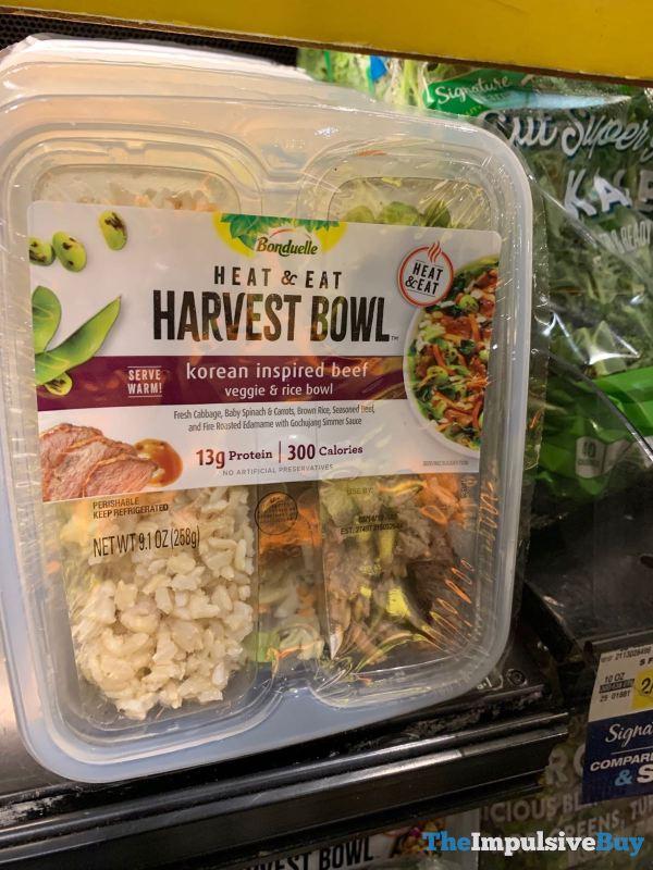 Bonduelle Harvest Bowl Korean Inspired Beef