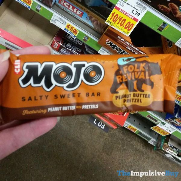 Clif Mojo Folk Revival Peanut Butter Pretzel Salty Sweet Bar