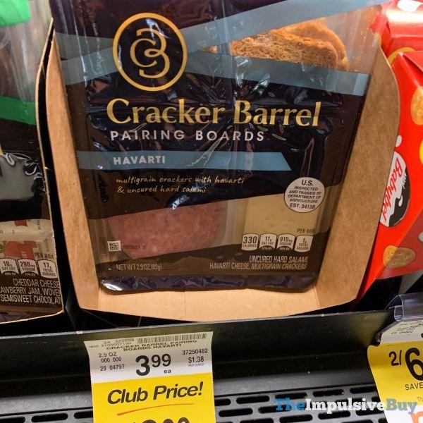 Cracker Barrel Pairing Boards havarti