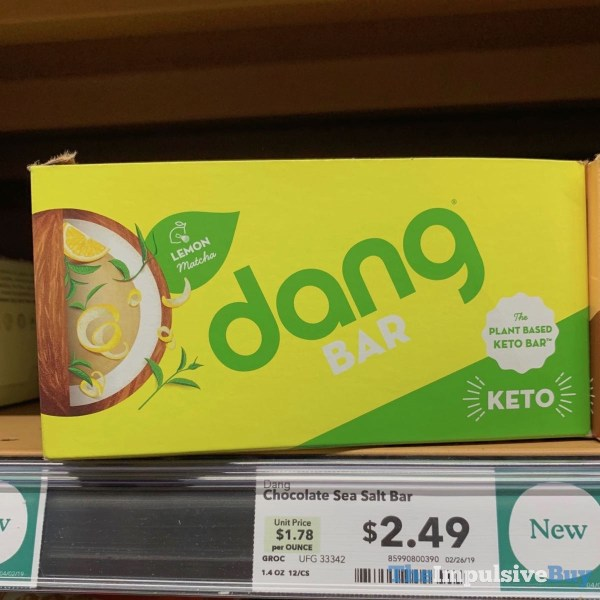 Dang Bar Lemon Matcha