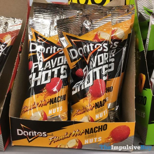 Doritos Flavor Shots Flamin Hot Nacho Nuts
