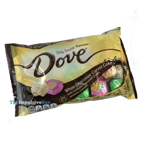 Dove Promises White Chocolate Carrot Cake
