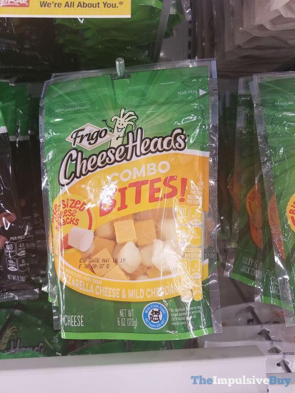 Frigo Cheese Heads Combo Bites Mozzarella Cheese  Mild Cheddar