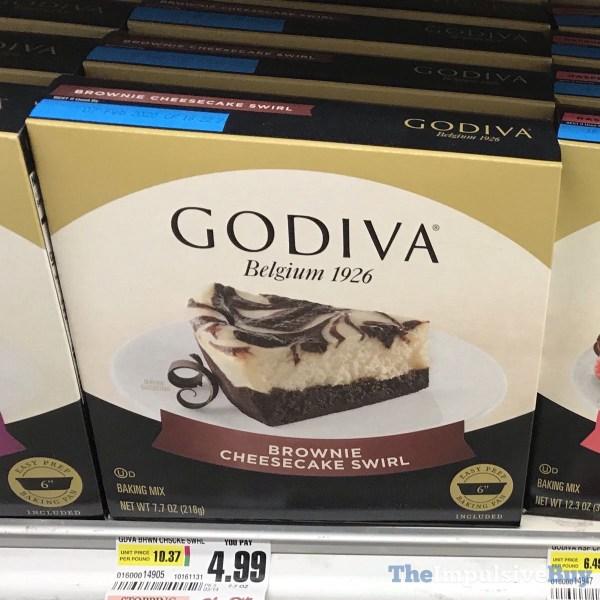 Godiva Brownie Cheesecake Swirl Baking Mix