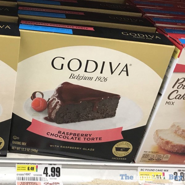 Godiva Raspberry Chocolate Torte Baking Mix