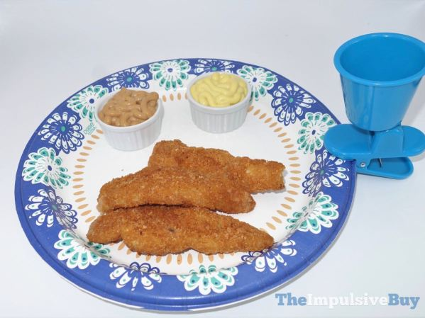 Heinz Mayomust and Mayocue Saucy Sauces with Chicken Strips