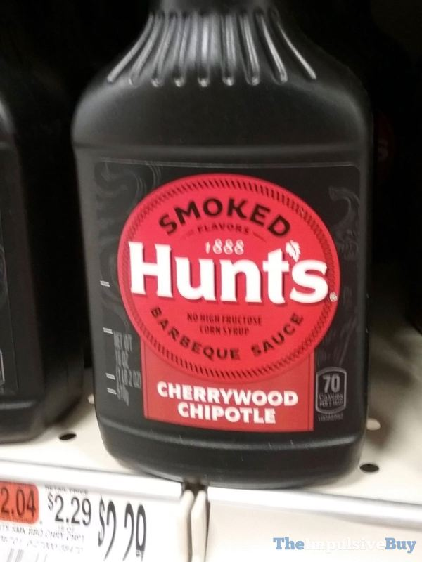 Hunt s Cherrywood Chipotle Barbeque Sauce