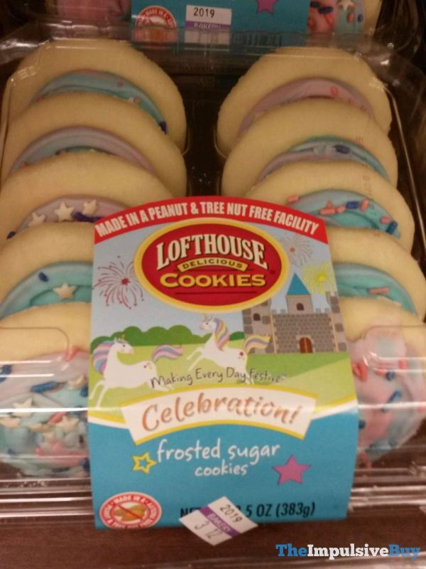 Lofthouse Cookies Celebration Frosted Sugar Cookies