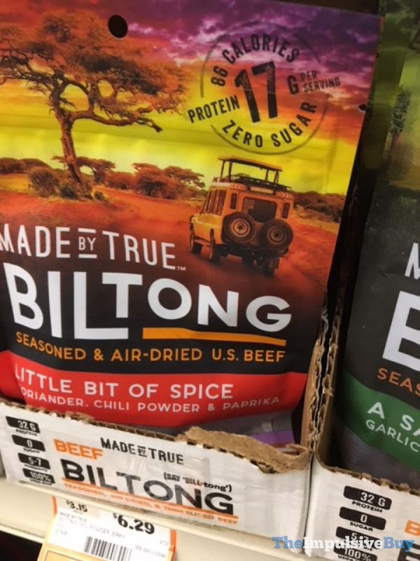 Made by True Biltong Little Bit of Spice