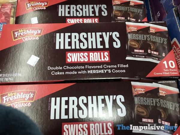 Mrs Freshley s Deluxe Hershey s Swiss Rolls