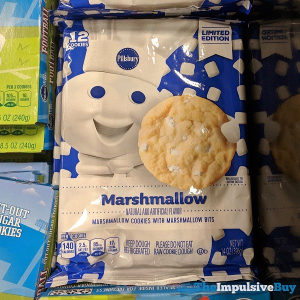 Pillsbury Limited Edition Marshmallow Cookies with Marshmallow Bits Cookie Dough