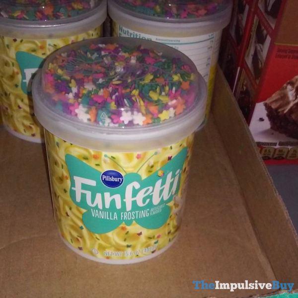 Pillsbury Spring 2019 Funfetti Vanilla Frosting