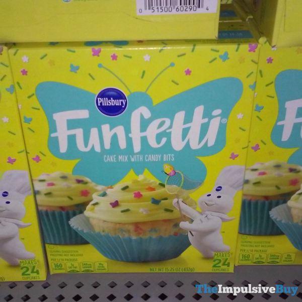 Pillsbury Spring Funfetti 2019 Design