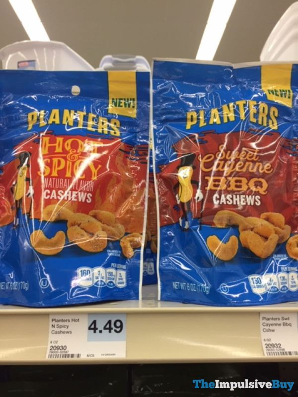 Planters Hot  Spicy and Sweet Cayenne BBQ Cashews