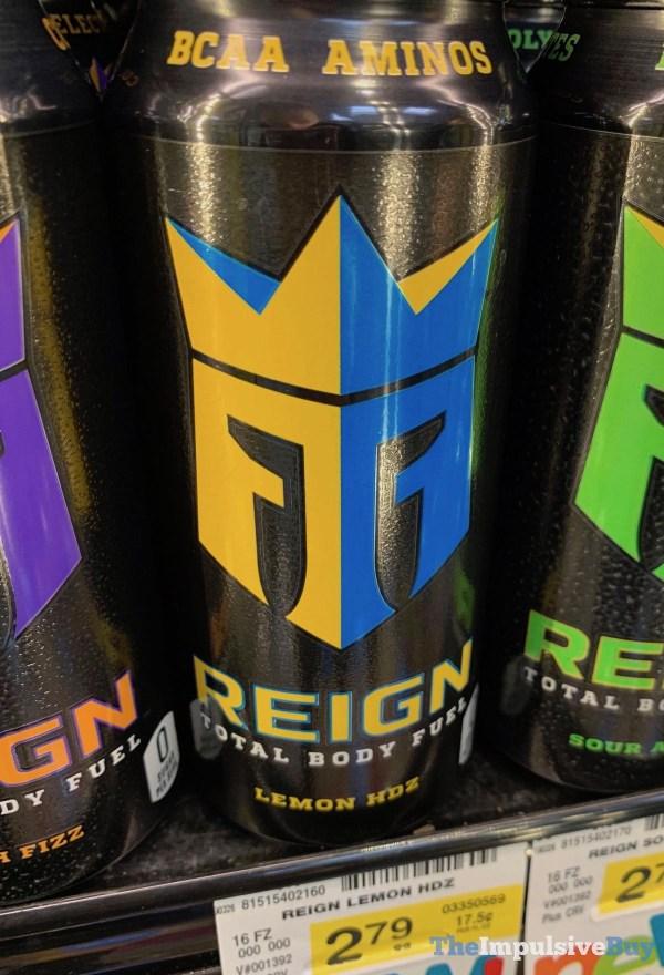 Reign Lemon HDZ Total Body Fuel