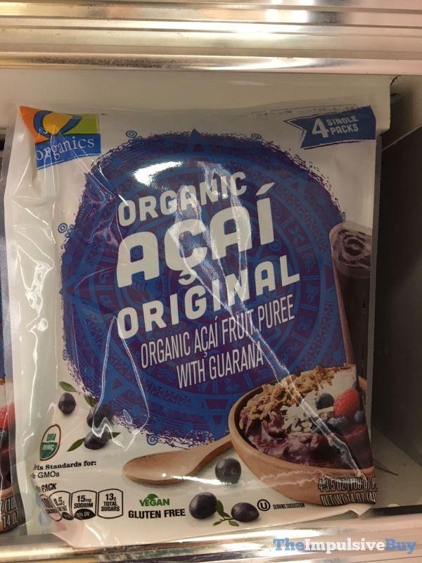 Safeway Organics Organic Acai Original Puree