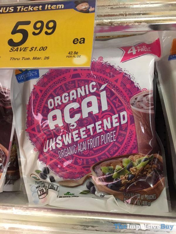 Safeway Organics Organic Acai Unsweetened Puree